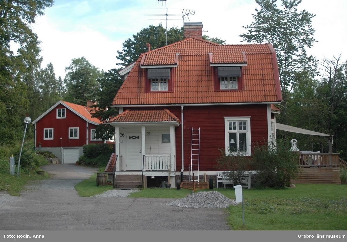 Inventering av kulturmiljöer i Tysslinge, Gräve, Kil och västra Längbro.Område 4.Miljö 55.1: Garphyttans f d sanatorium.Dnr: 2010.240.086