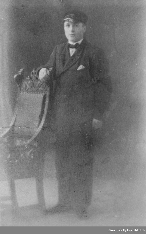 Rikhart Lind som ung.