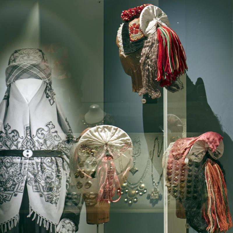 Head Wear. The Folk Dress Exhibition
