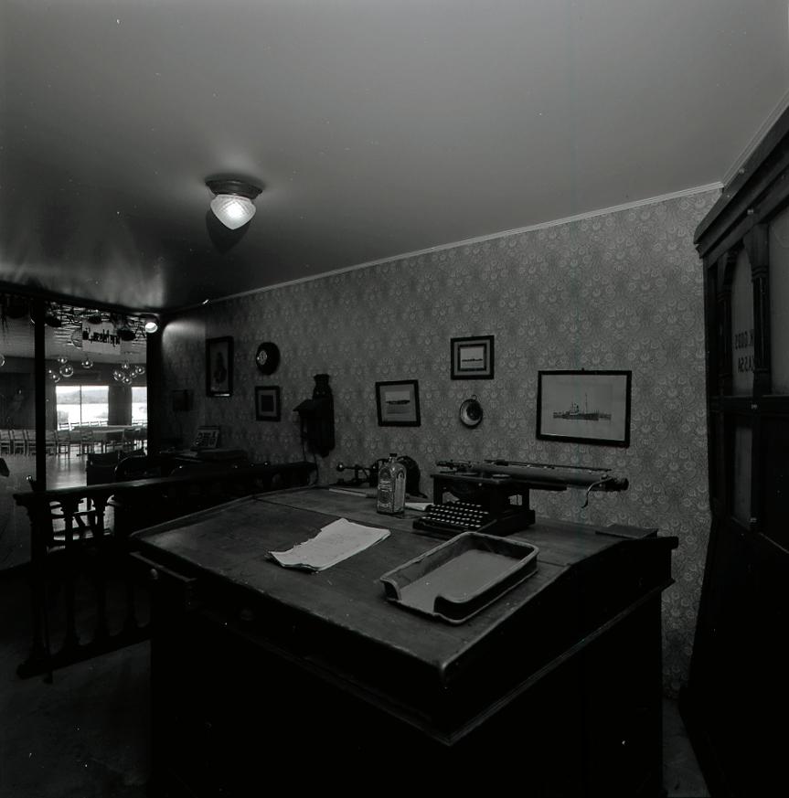 Skrivepult Norsk Maritimt Museum DigitaltMuseum
