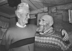 Torfinn Bjørnaas og Johan Elvbakken.
