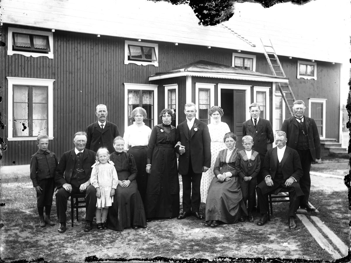Bröllop (troligen Lindström i Totra).