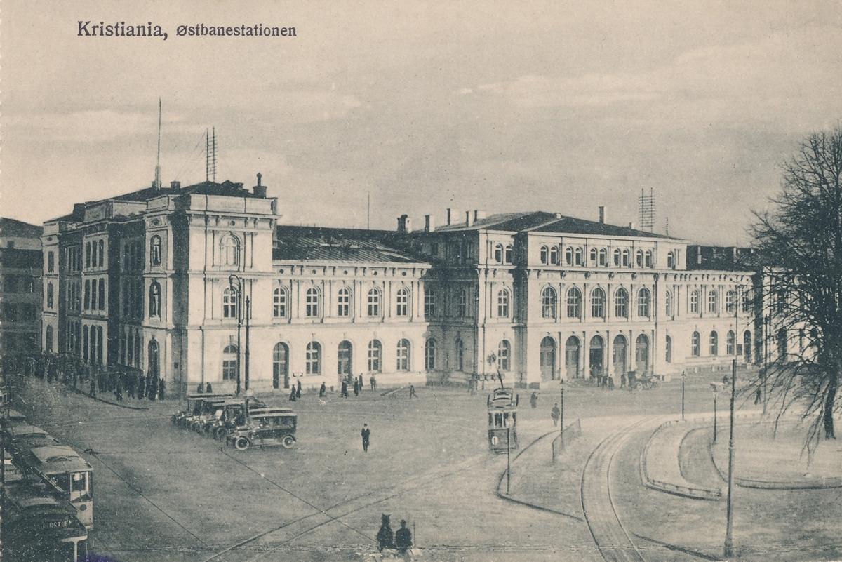 Oslo Østbanestasjon fra sjøsiden