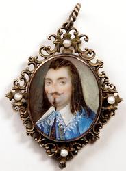 Chevalier Louis XIII [Miniatyrmålning]