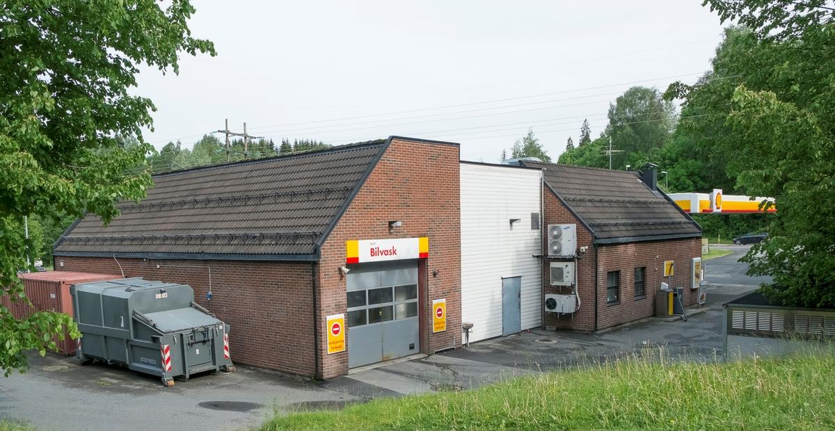 Shell bensinstasjon Skollerudveien Bærums verk Bærum