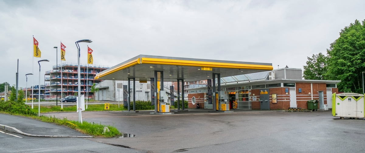 Uno X bensinstasjon Gjønnesjordet Bekkestua Bærum