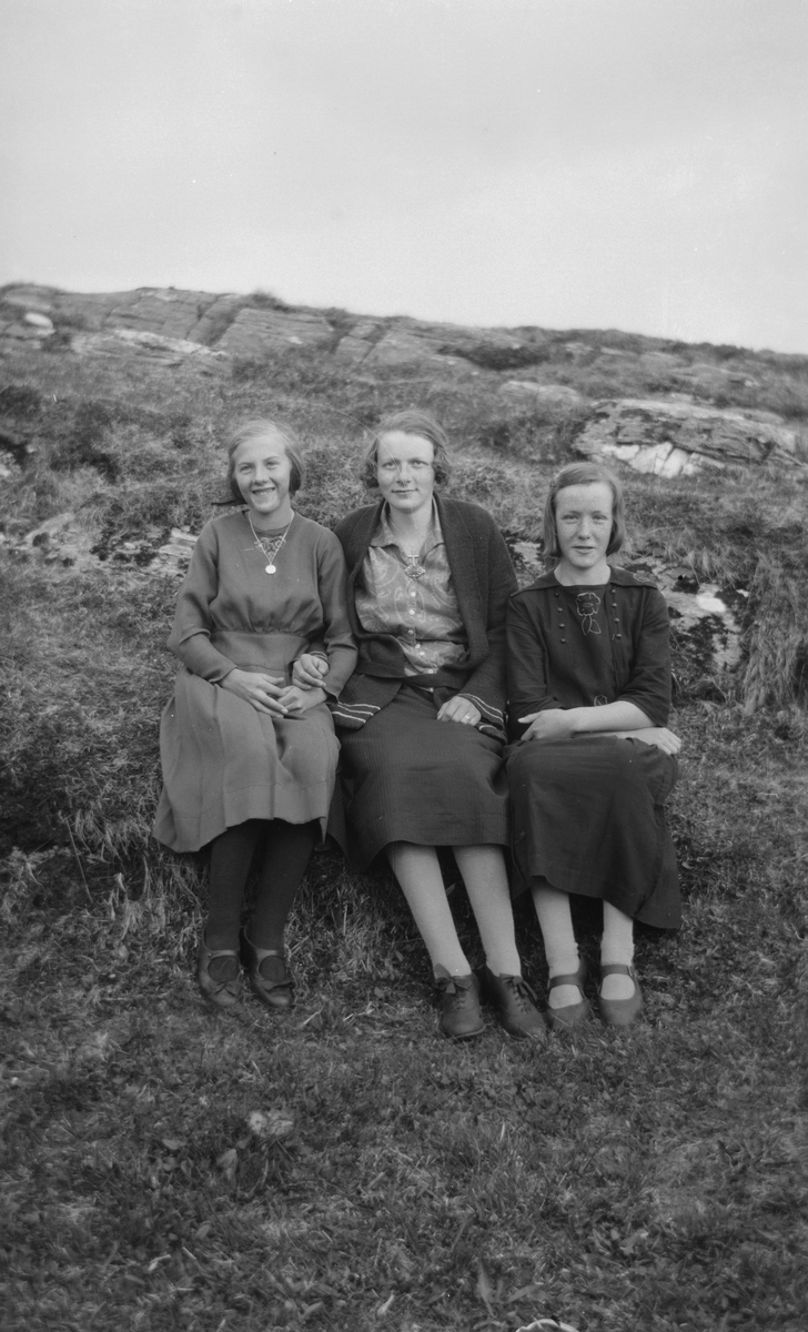 Tre kvinner.