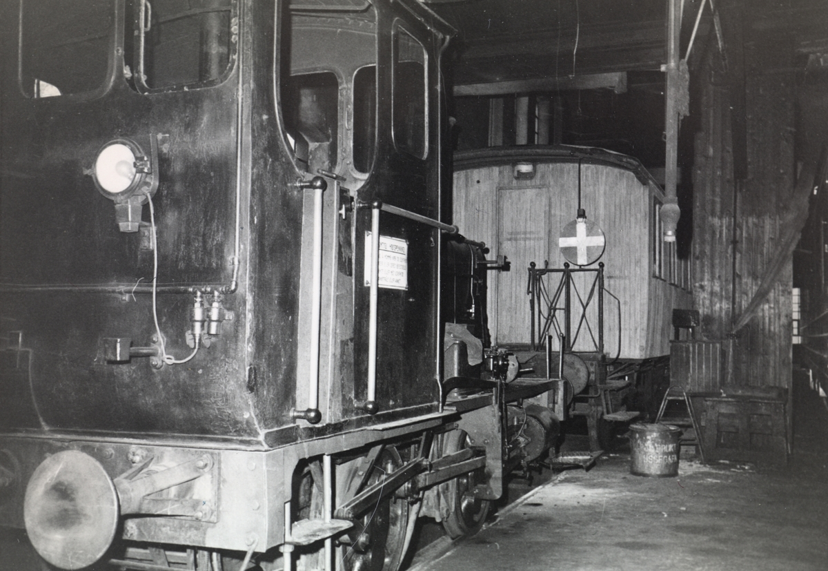 Damplok type 7a nr. 11 i gamlestallen i Lodalen i Oslo.