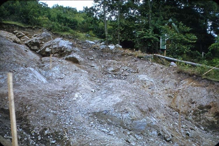 Kompletterande bild till bergrum, (101-107).