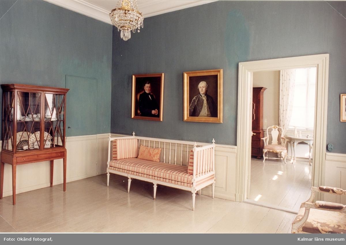 Interiörbilder från Fredriksbergs herrgård.