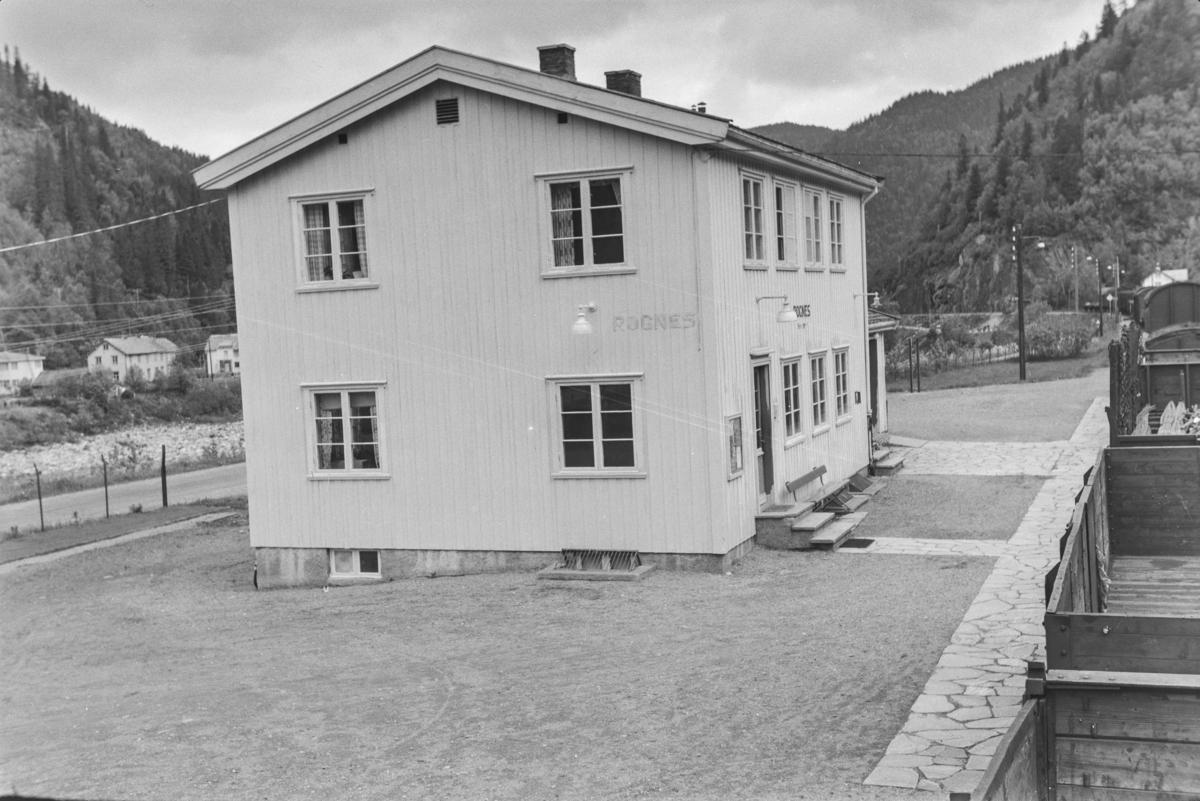 Rognes stasjon på Rørosbanen.