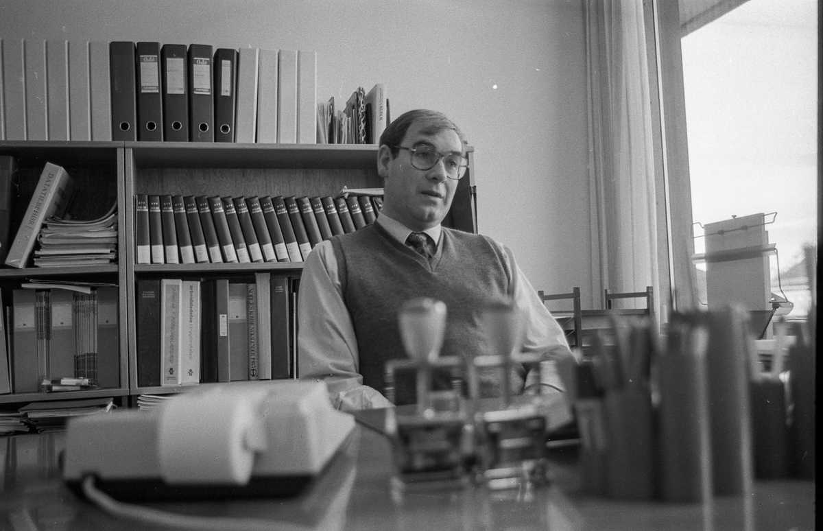 Frogn Trygdekontor. Trygdesjef Arne Rolfsnes.