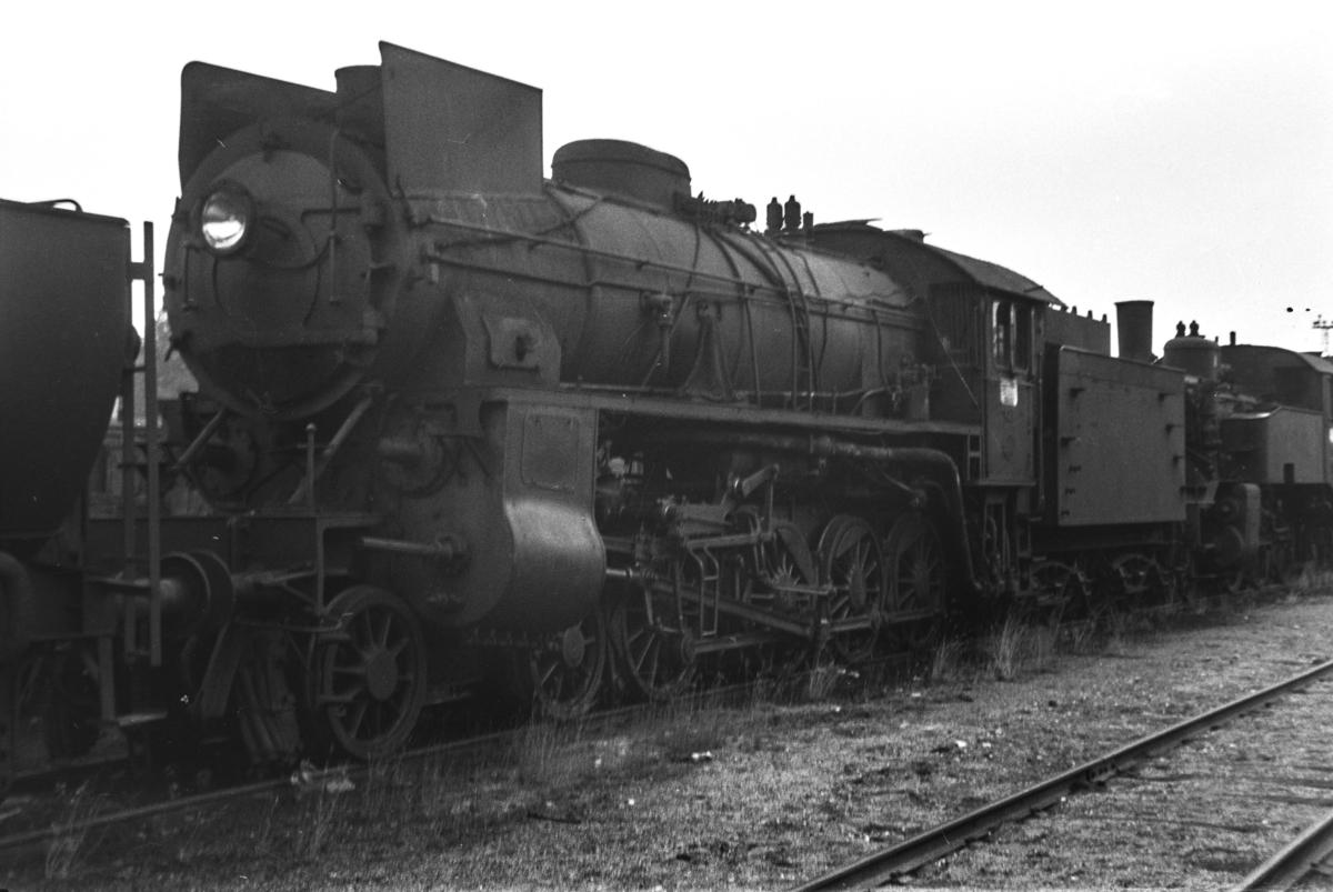 Hensatt damplokomotiv type 31b nr. 427 i Lodalen i Oslo.