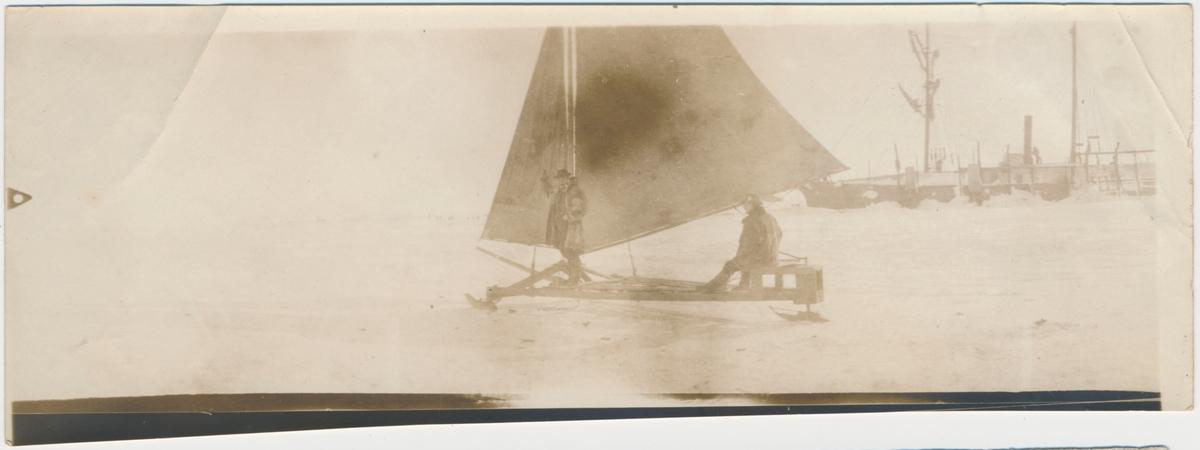 Amerikanske hvalfangere på Herscel øyen 1905-06