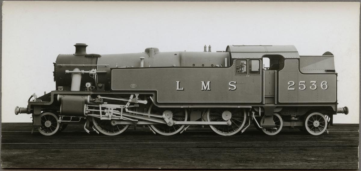 London Midland Scottish Railway, LMS 4p 2536.