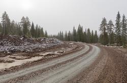 Vindkraftutbygging på Finnskogen. Utbedring av eksisterende