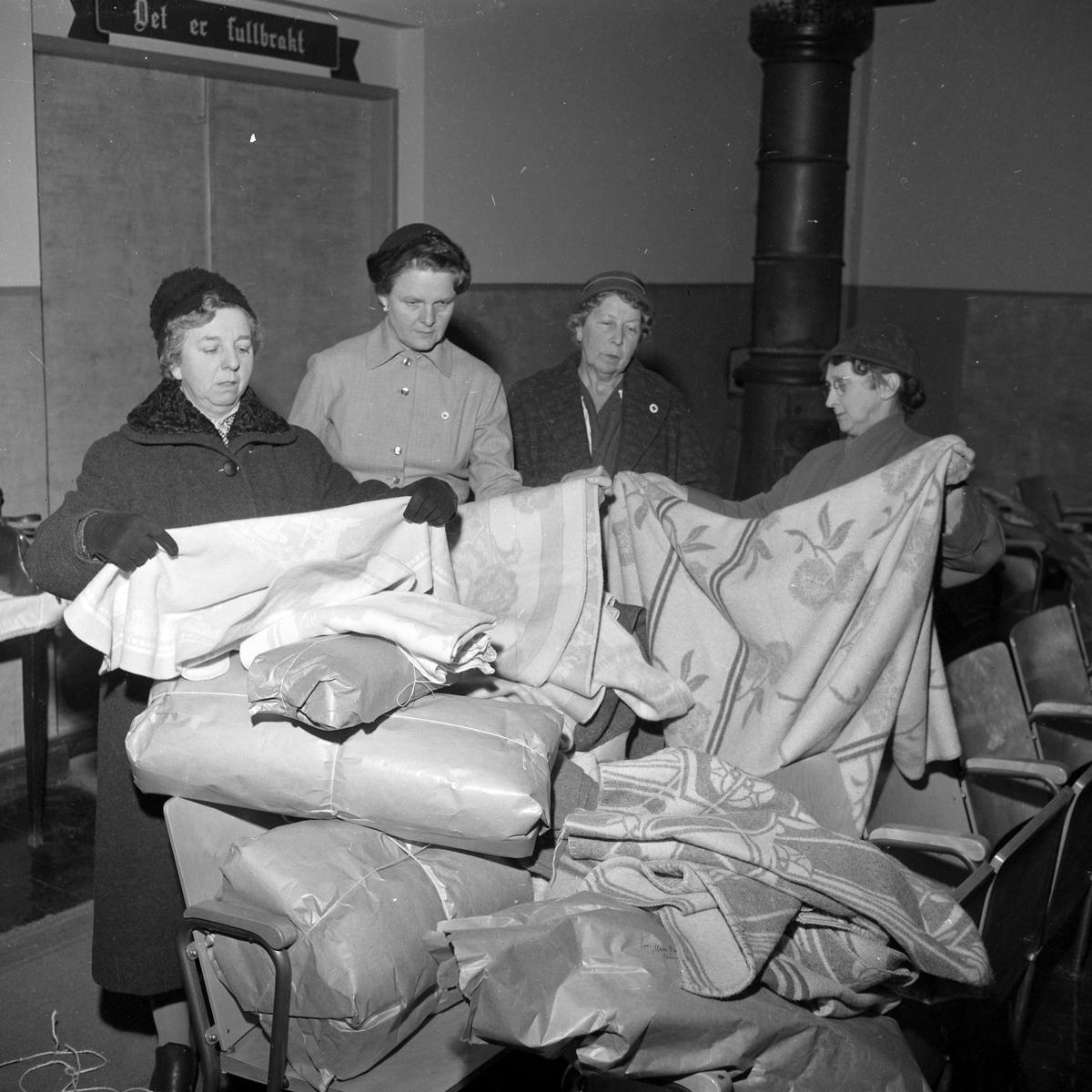 Ullteppeinnsamling for Ungarnhjelpen
