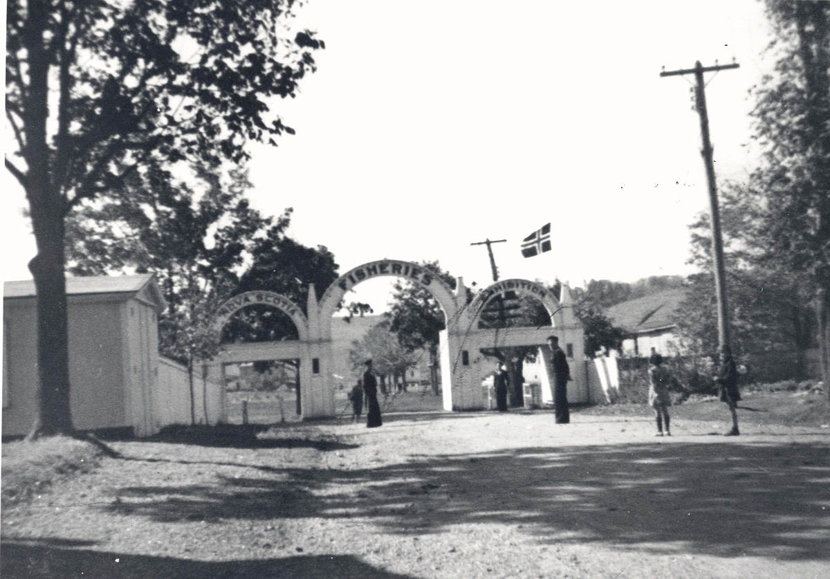 """"""" Camp Norway"""", Lunneburg, Nova Scotia 1940, for utdannelse av skyttere til handelsflåten"""