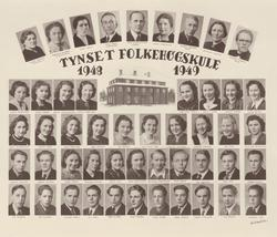 Tynset folkehøgskule 1948-49