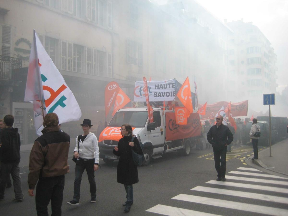 Haute Savoie demonstrasjon