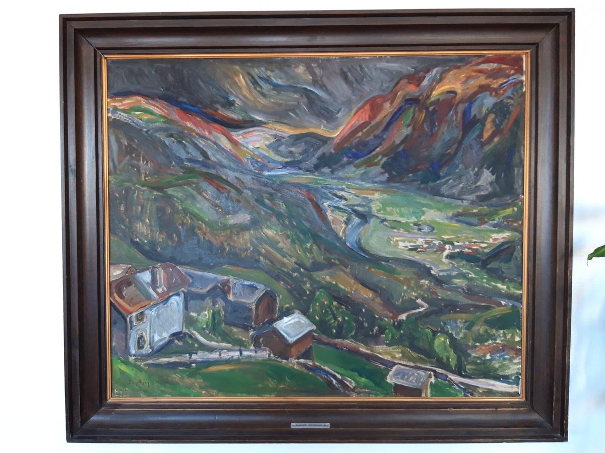 Flatdal, Telemark [Målning]