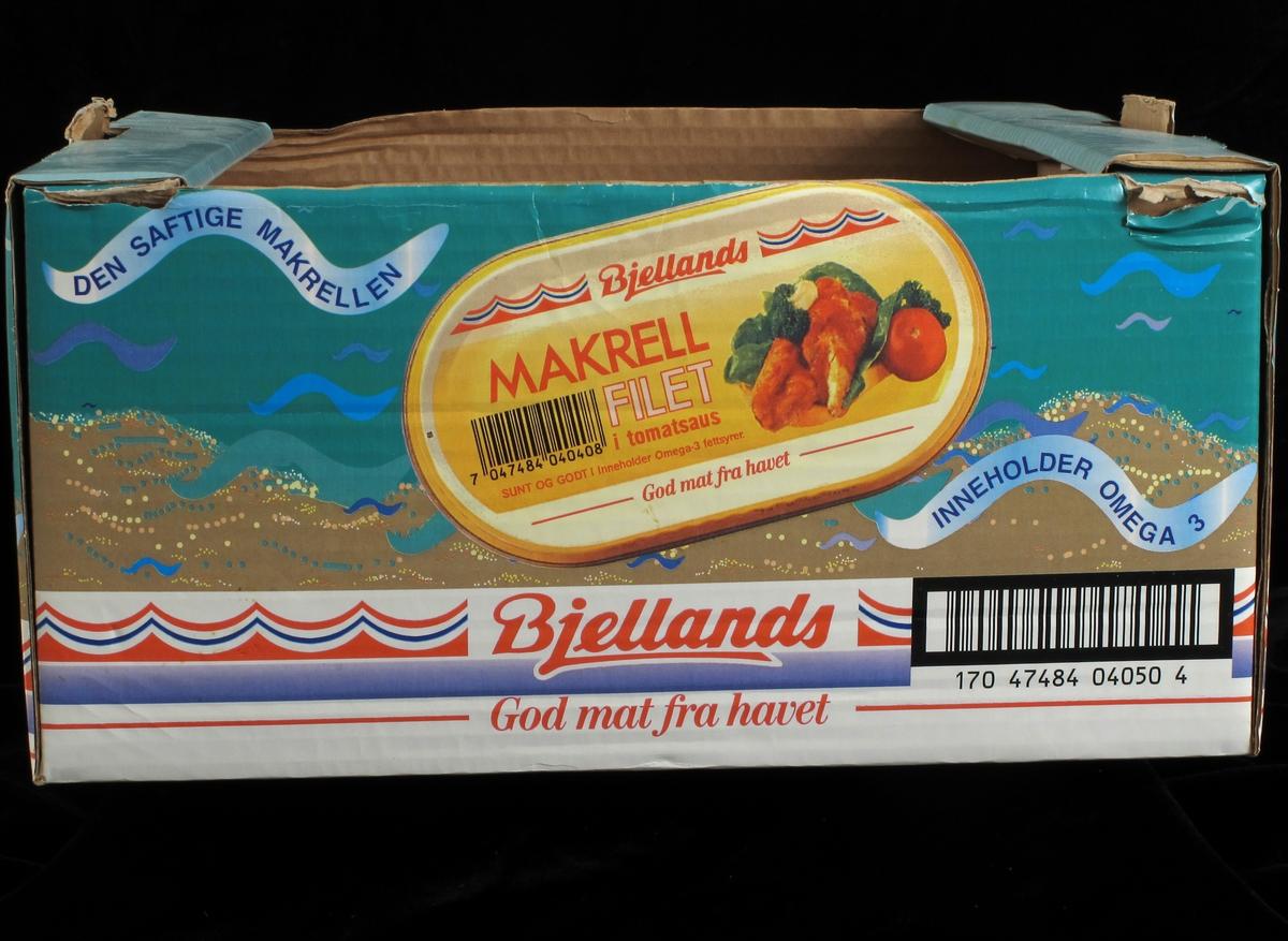 Makrellboks, varemerke.