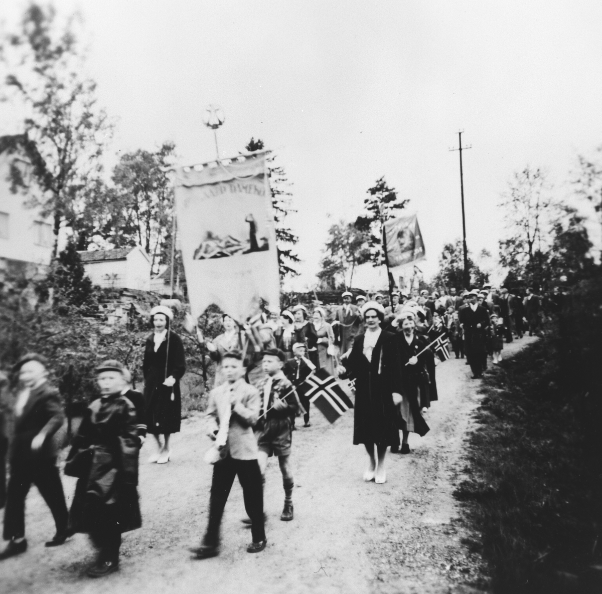 17. mai toget 1953.