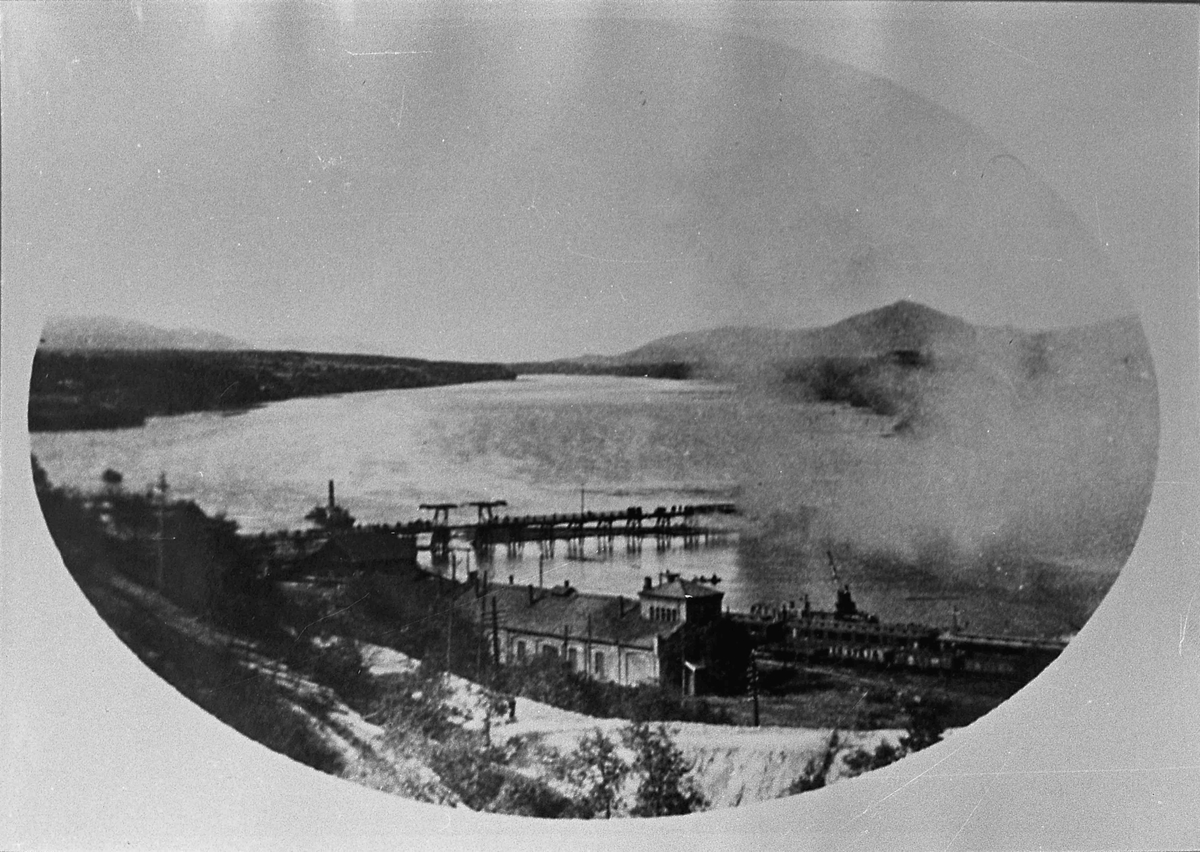 Sundbrua brenner - i 1921