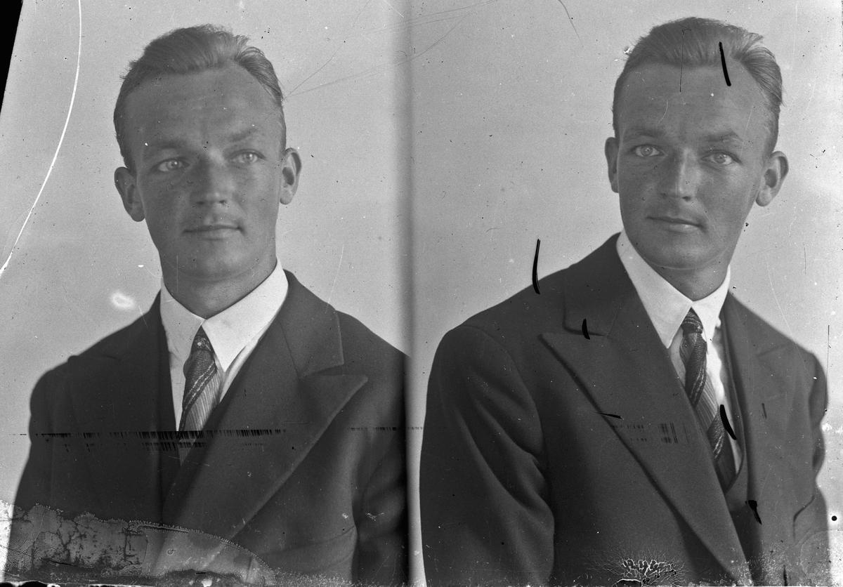 Olav Østerud, skolelærer fra Hurdal