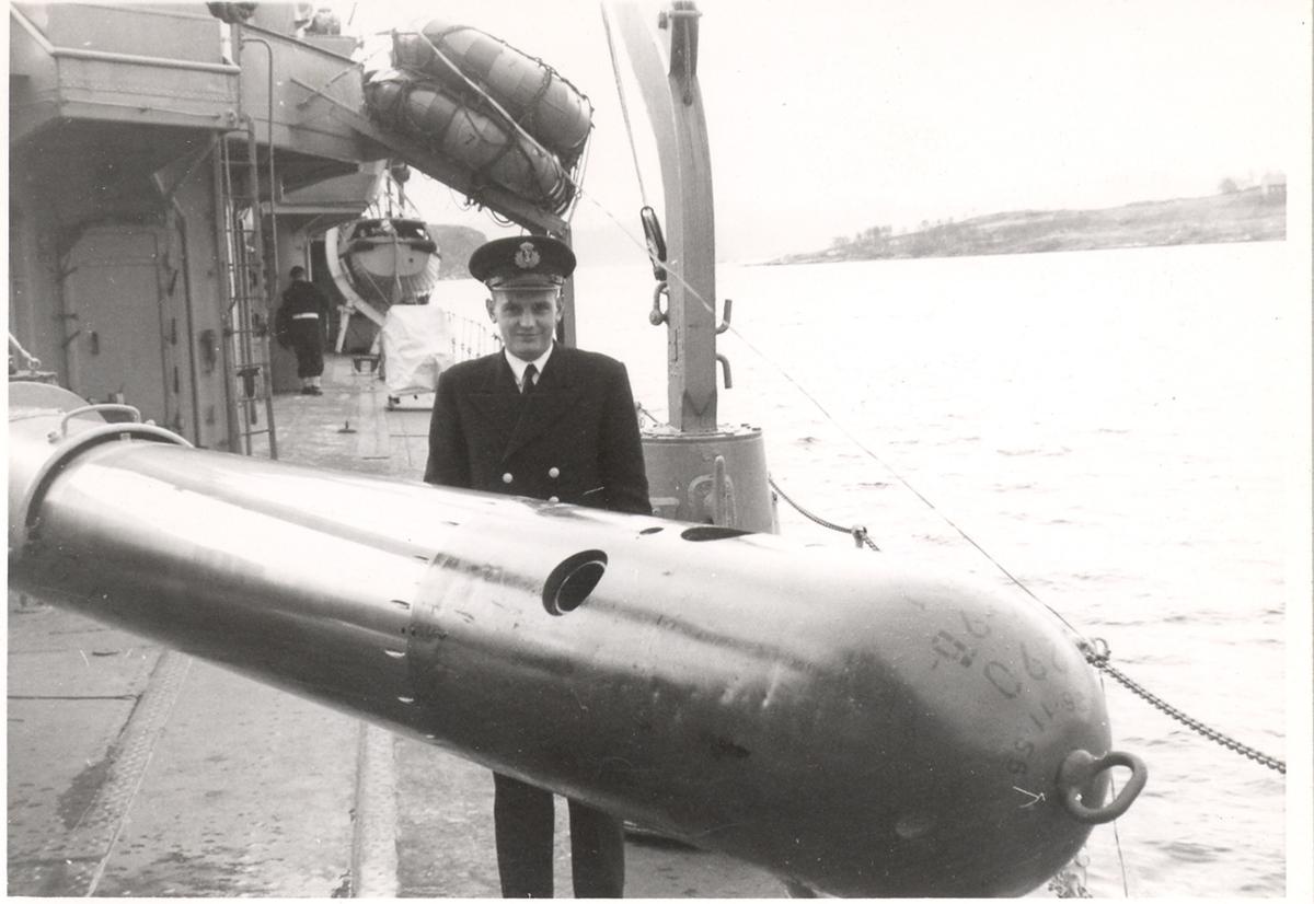Torpedo offiseren på C-Klasse jager.