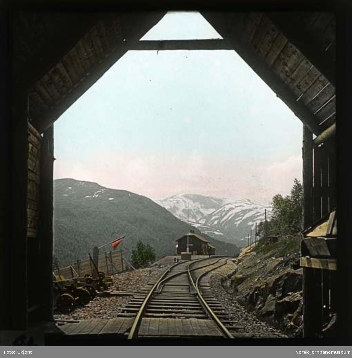 Mjølfjell stasjon