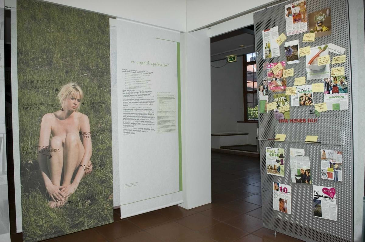 Hot Spot utstilling, åpnet den 10.mai 2007.