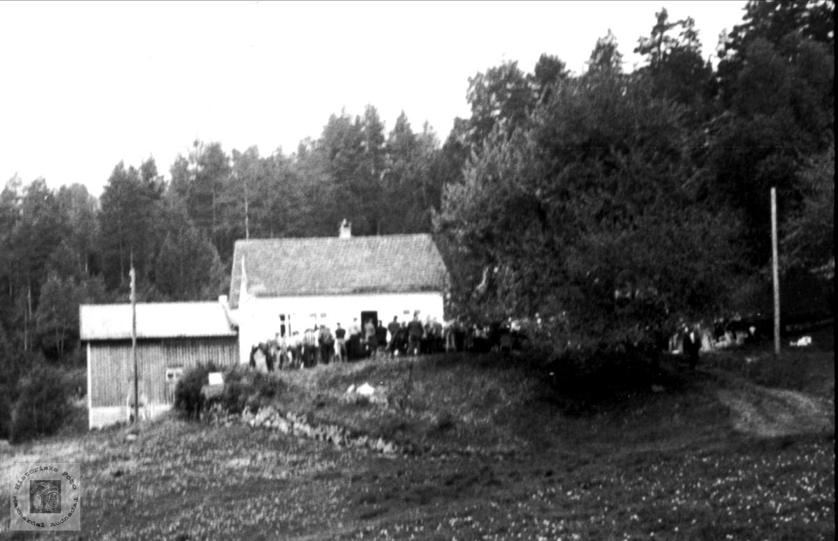 Øvrebø i Bjelland.