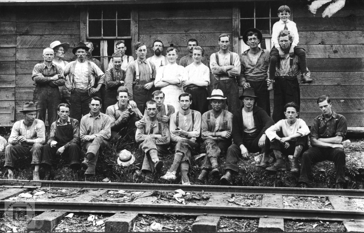 Tømmerhoggere i Canada.