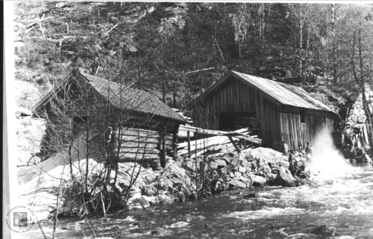 Sag ved Sagåna, Høye Øyslebø.