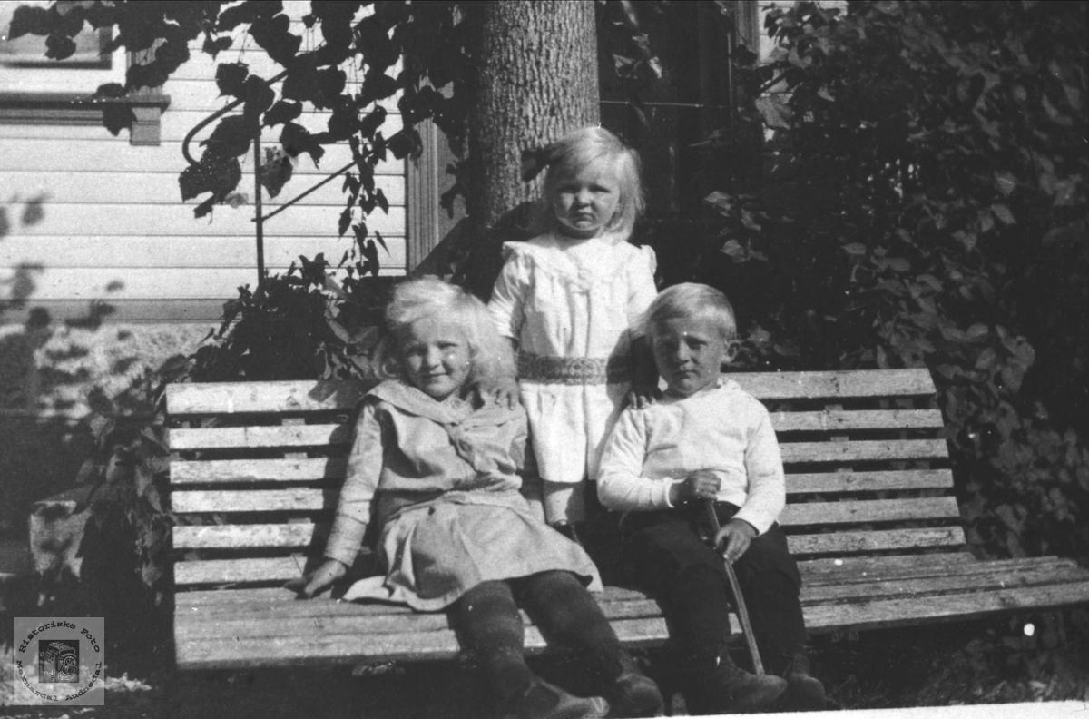 Barnegruppe Sodeland, Holmesland og Øyslebø på Øyslebø.