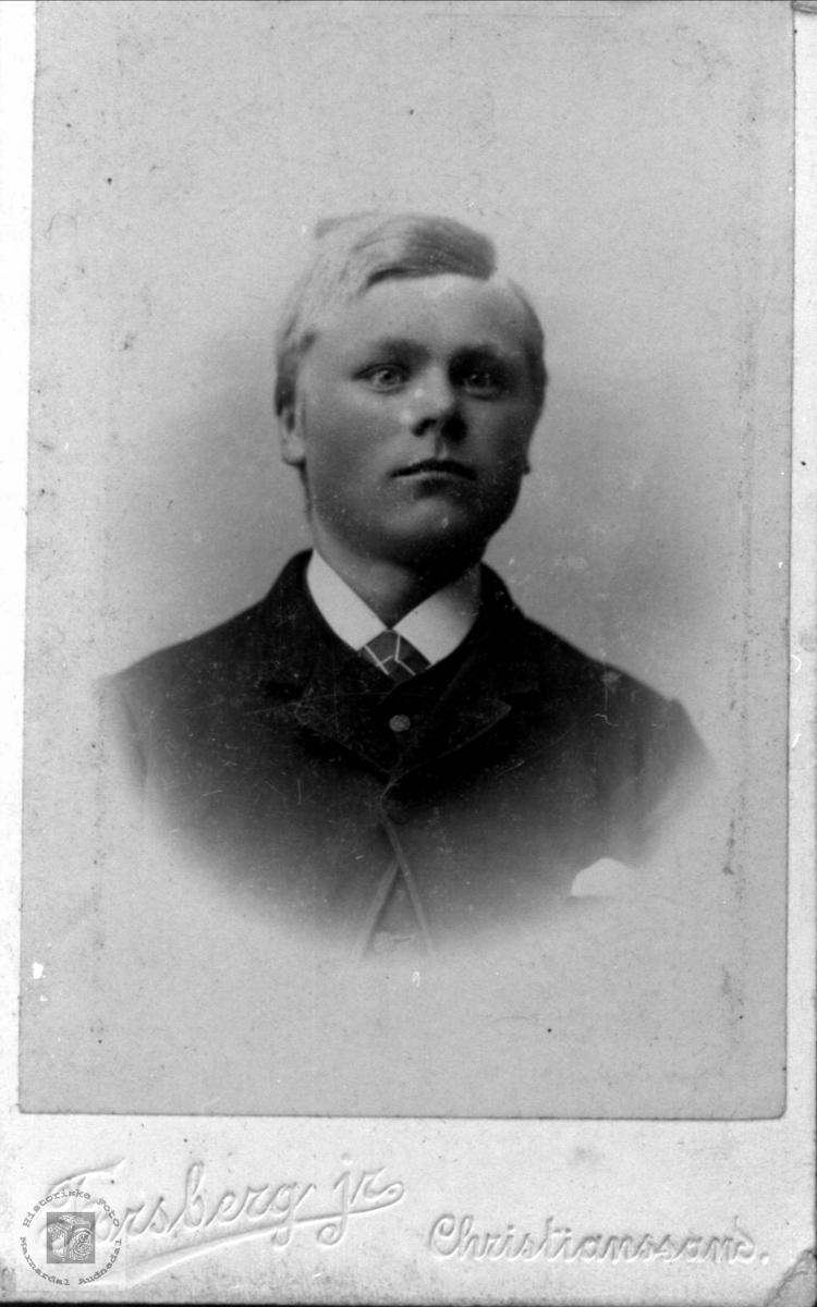 Portrett av Nils Ask, Bjelland.