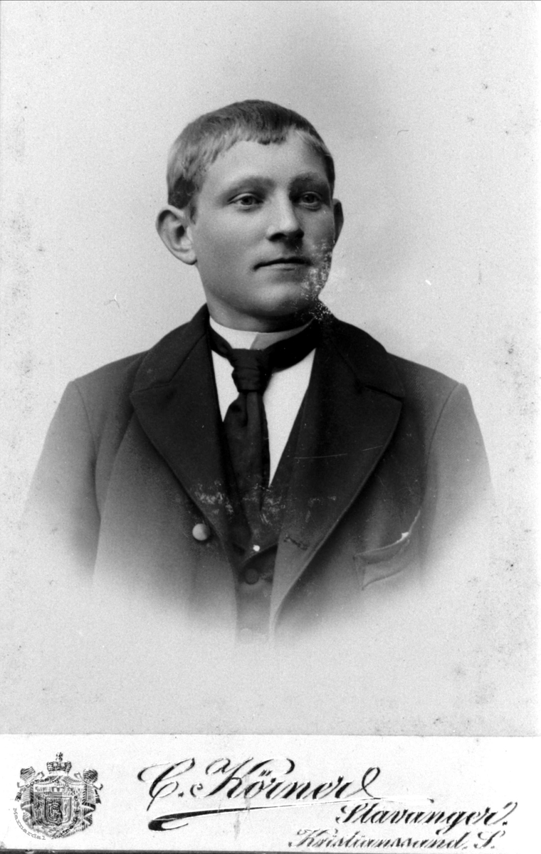 Portrett av Torvald Finsdal, Øyslebø.
