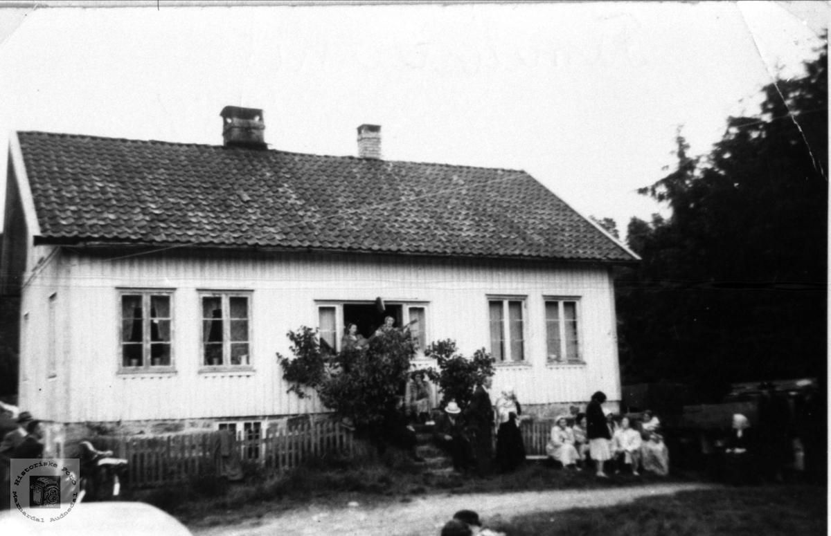 Familiestevne på Krossen i Øyslebø.