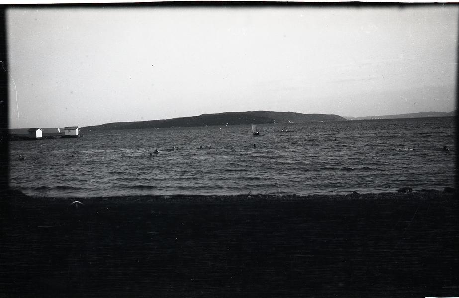 Osloturen sommaren 1928. Paradisbukta i Oslo