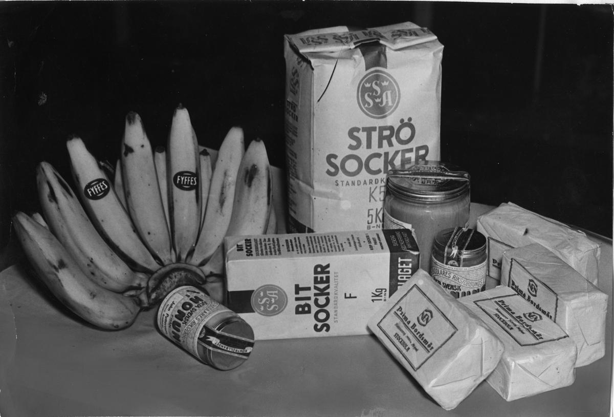 Livsmedel före 1939.