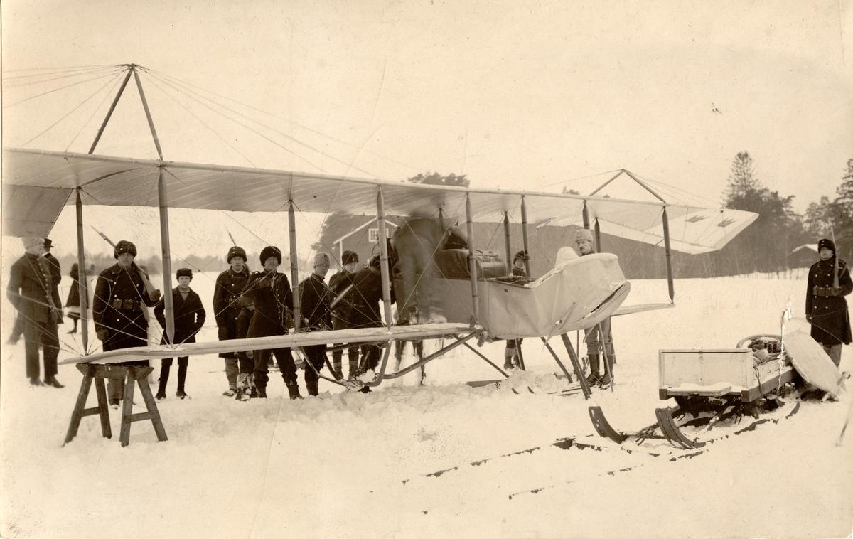 Fahrmanmaskin flugen av Hugo Sundstedt. Gävle 1922.