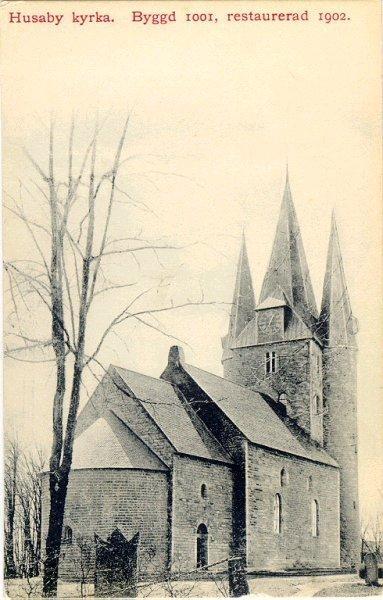 Husaby kyrka.