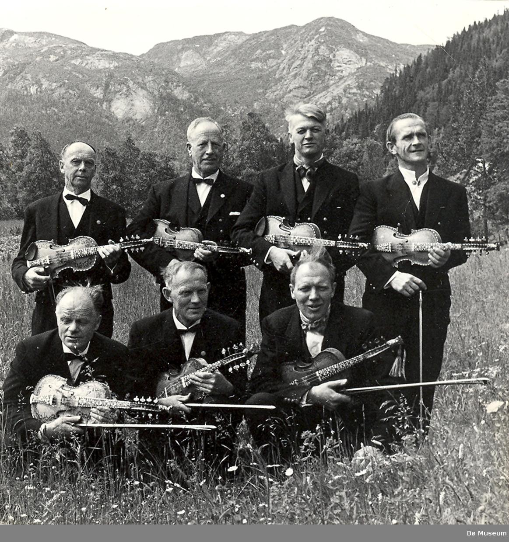 Vinje spelemannslag ca 1970