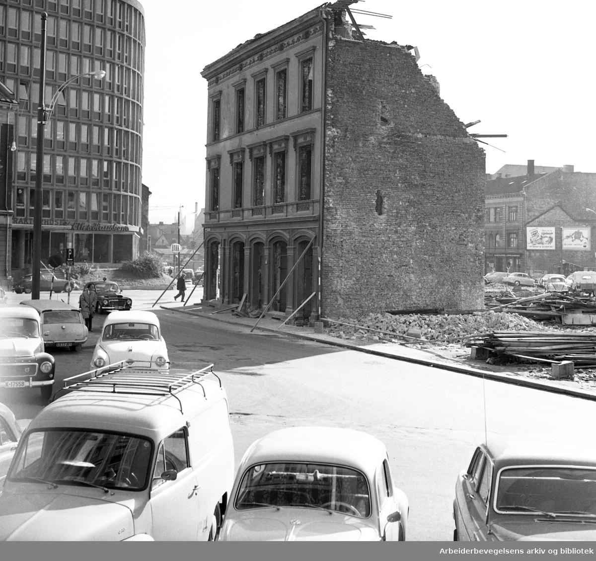 Saneringen av Vaterland. .Udatert. .Ca. 1959 - 1970.