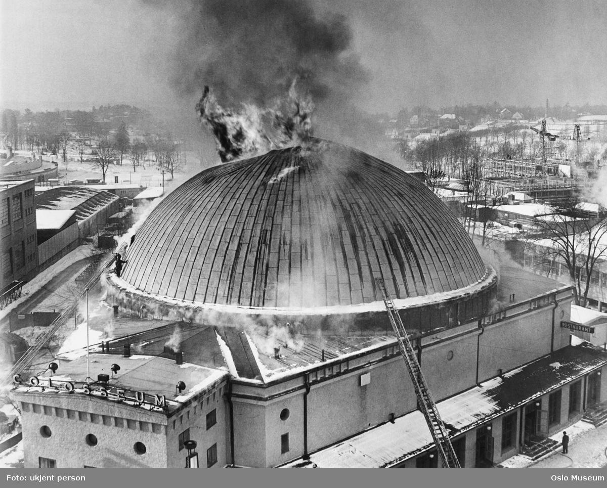 Colosseum kino, brann