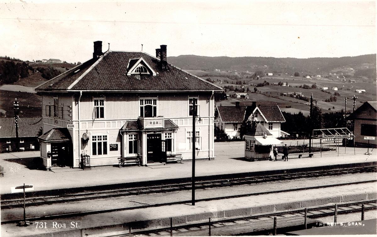Roa stasjon på Gjøvikbanen.