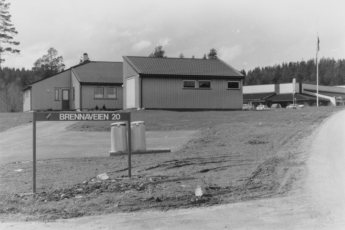 Brennaveien bosenter for funksjonshemmede sto ferdig på 80-tallet.