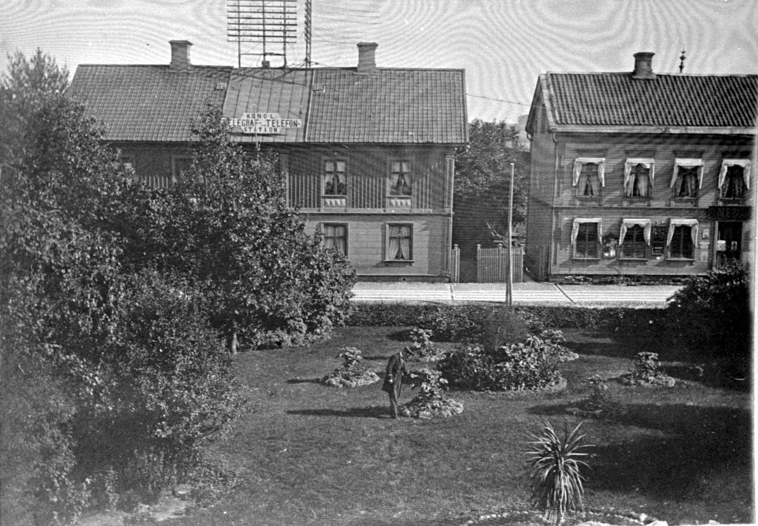 Telegrafen vid Ranten.