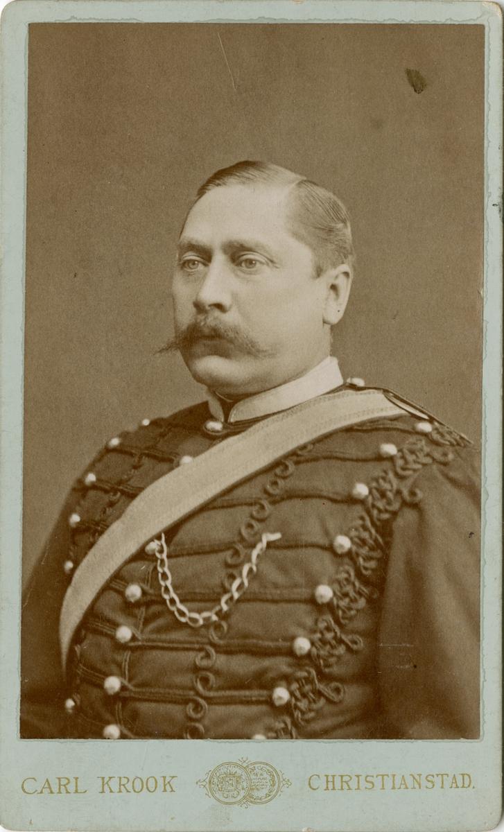 Porträtt av okänd officer vid Wendes artilleriregemente A 3.